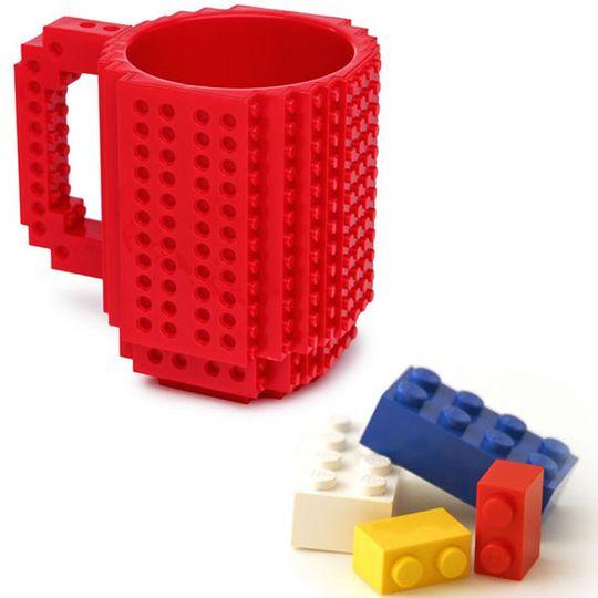 Кружка Лего (Красная)