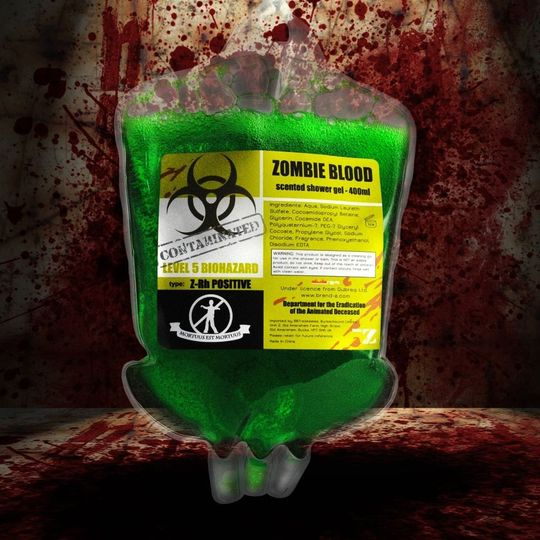 Гель для душа Zombie Shower Gel