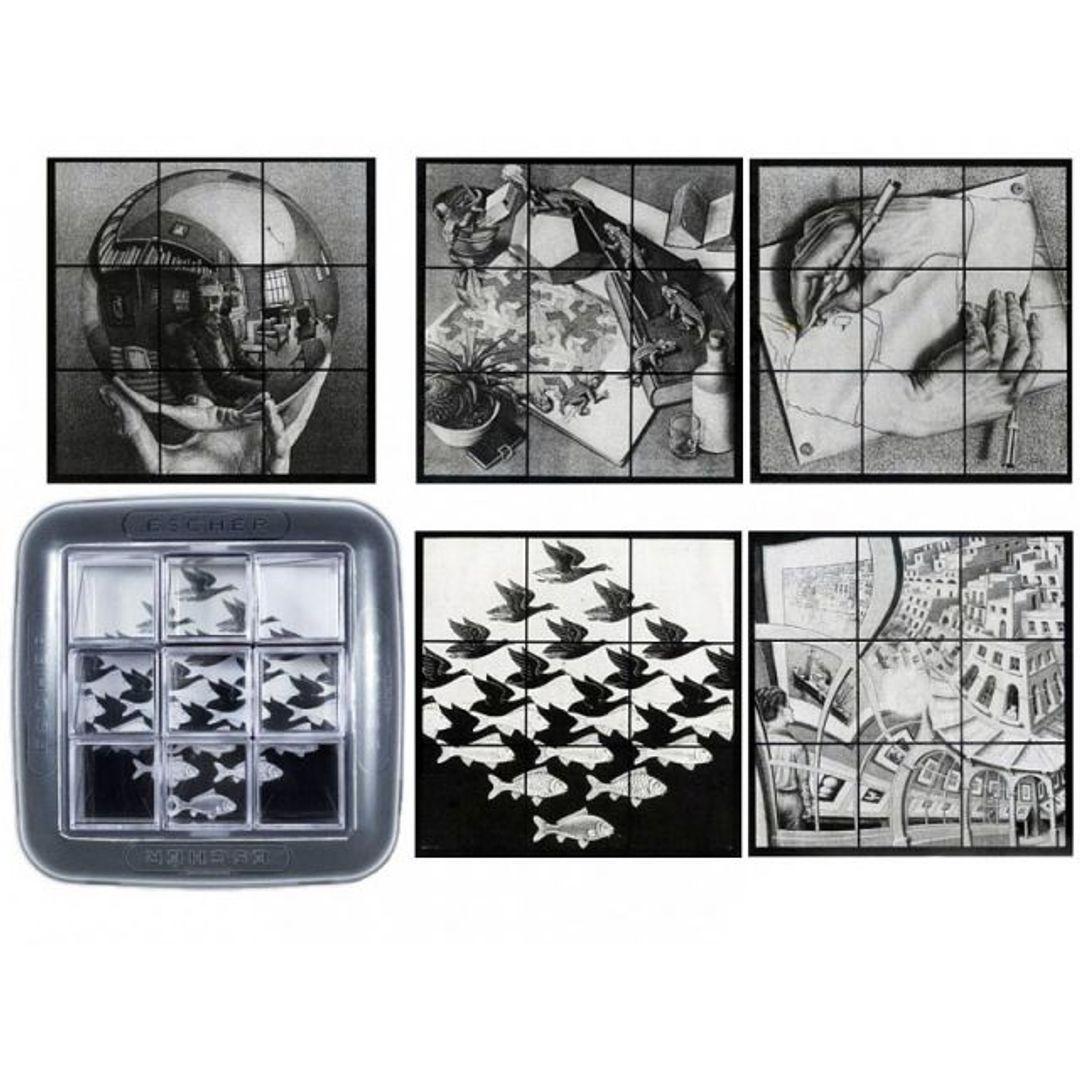 Головоломка Зеркальный Эшер Mirrorkal Escher Репродукции картин на упаковке