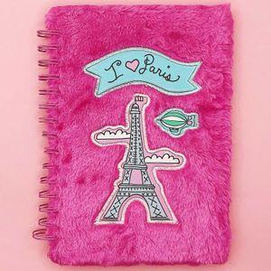 Блокнот плюшевый I love Paris