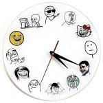 Часы настенные Trollface