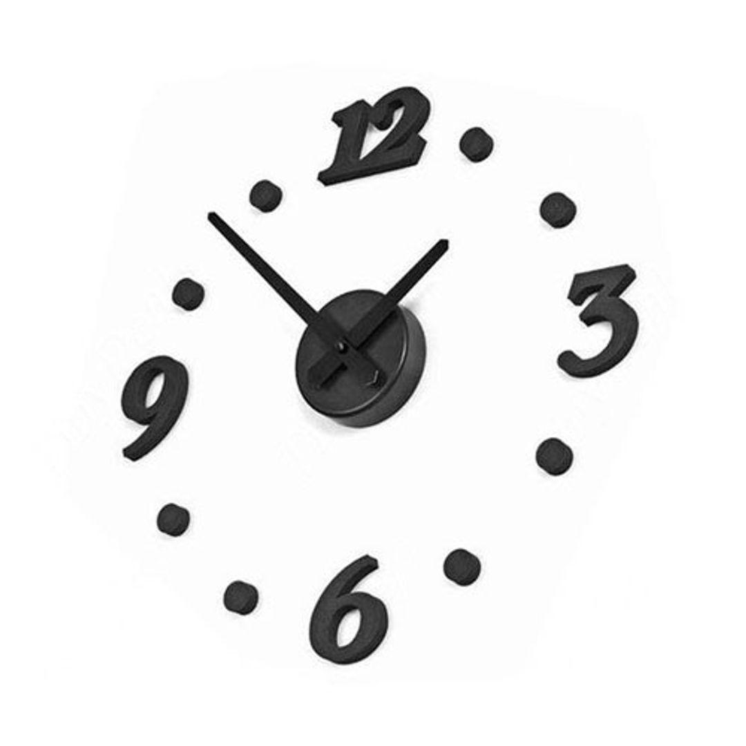 Часы Наклейка С цифрами и точками