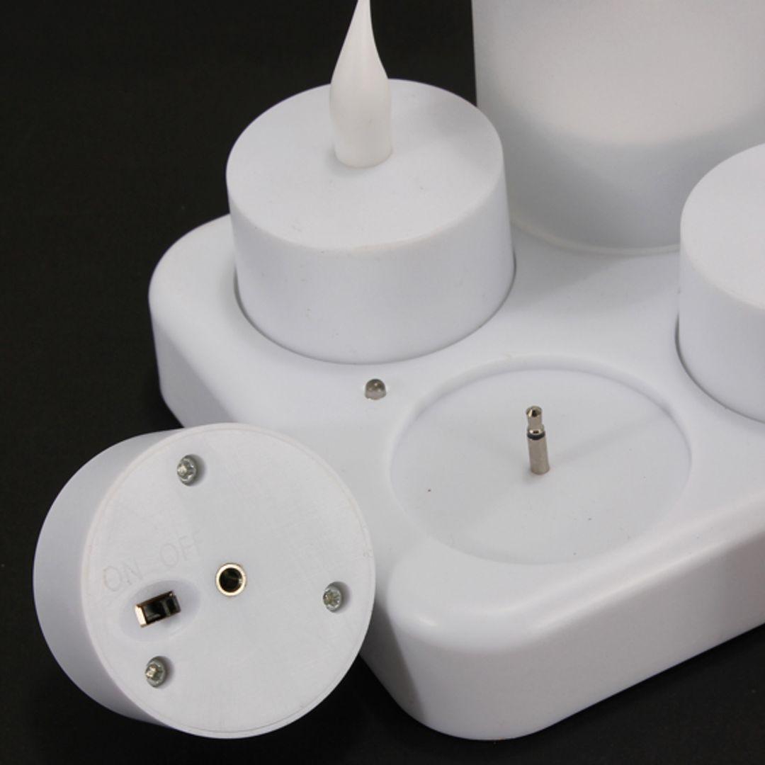 Электронные свечи (12 штук)