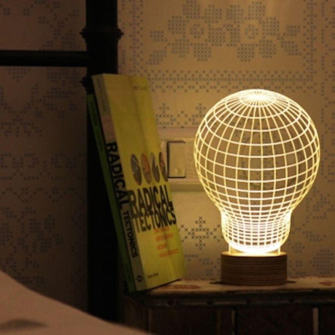 3D Лампа Лампочка