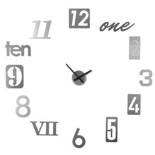 Часы настенные Numbra (Алюминиевый)
