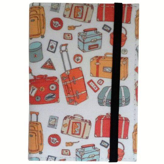 Обложка для паспорта Baggage Фиксируется сверху резинкой