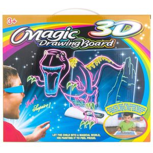 Магическая 3D доска для рисования Magic 3D Board Динозавры