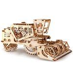 Механический 3D Пазл Ugears Комбайн