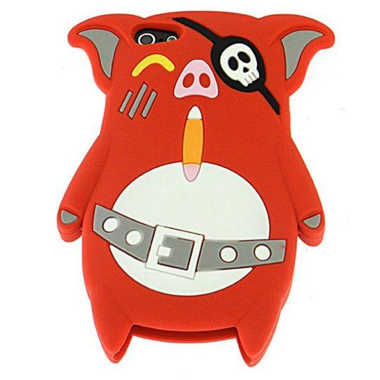 Чехол iPhone 5 Свинка