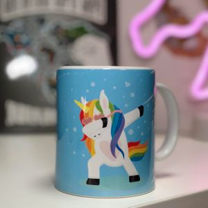Кружка Единорог Unicorn dab