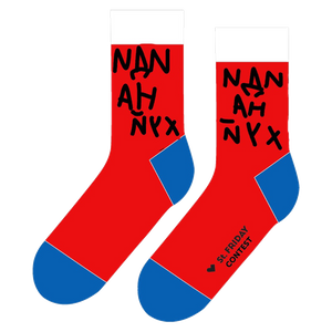 "<span style=""color:#eb0f10;"">Носки St. Friday Socks</span>"