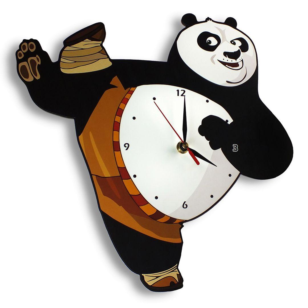Часы настенные Кунг-фу Панда