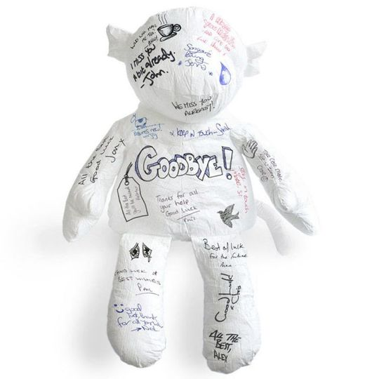 Игрушка-раскраска Бумажная обезьянка Paper Monkey