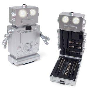 Набор инструментов с фонариком Robot