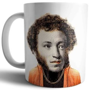 Кружка Модные классики Пушкин Ай да Пушкин!