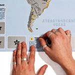 Скретч-карта горнолыжных курортов мира SnowMap