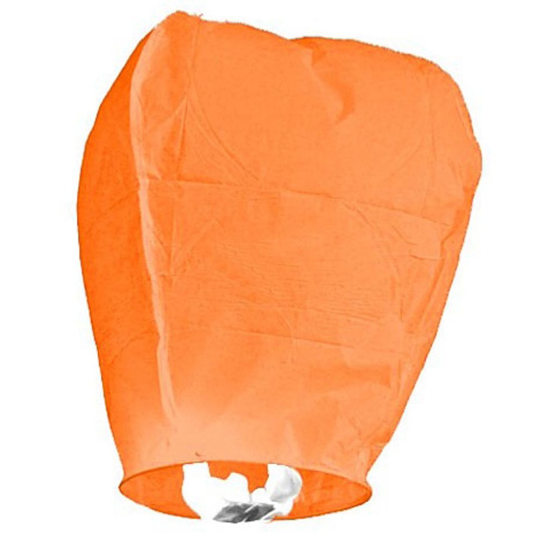 Летающий фонарик (Оранжевый)