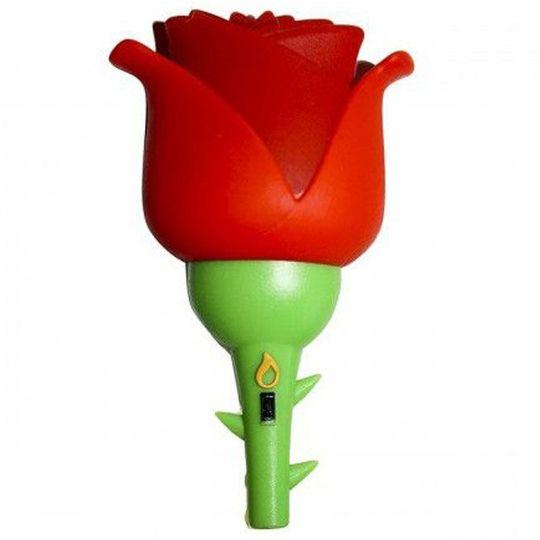 Флешка Роза 8 Гб (Красный)