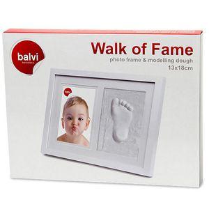 Фоторамка детская со слепком Walk of Fame (13 x 18 см)