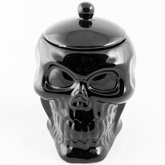 Кружка Черный череп