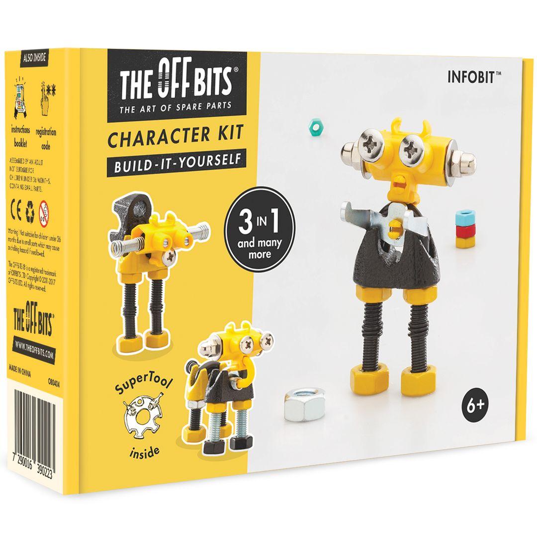 Игрушка-конструктор The Offbits Infobit от 1 079 руб