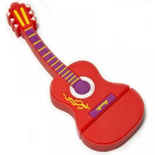 Флешка Гитара 8 Гб (Красная)
