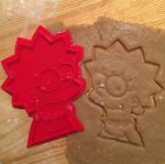 Форма для печенья Lisa Simpson