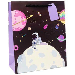 Подарочный пакет Космонавт (32 х 26  х 12,5 см)
