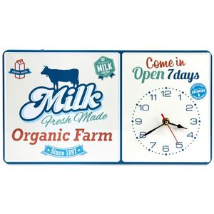 Часы настенные Молоко Milk