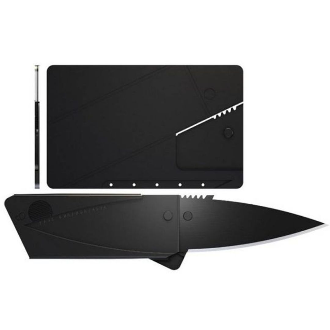 Нож Кредитка CardSharp Сворачивается из плоской карты