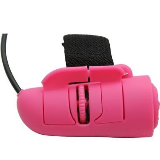 Мышь - напальчник Розовая