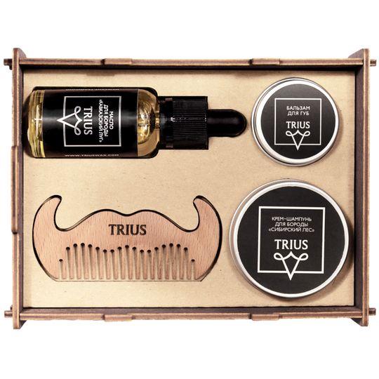 Деревянный набор бородача Trius