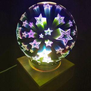 USB Ночник Магический шар Звезды