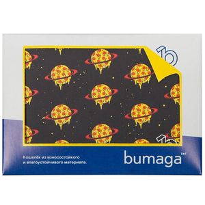 Кошелек Bumaga Space Pizza