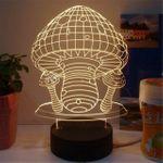 3D Лампа Гриб