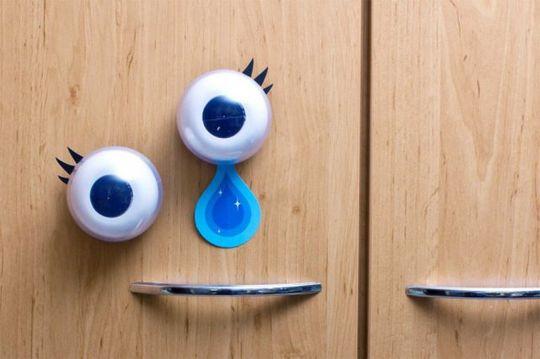 Моргающие глаза