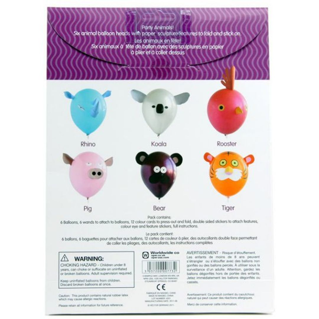Набор воздушных шаров Животные