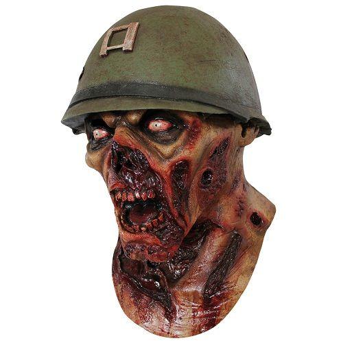 Маска нациста-зомби<br>Капитан Лестер<br>Сделано в Мексике