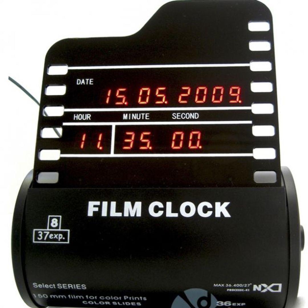 Часы Фотопленка Film Clock