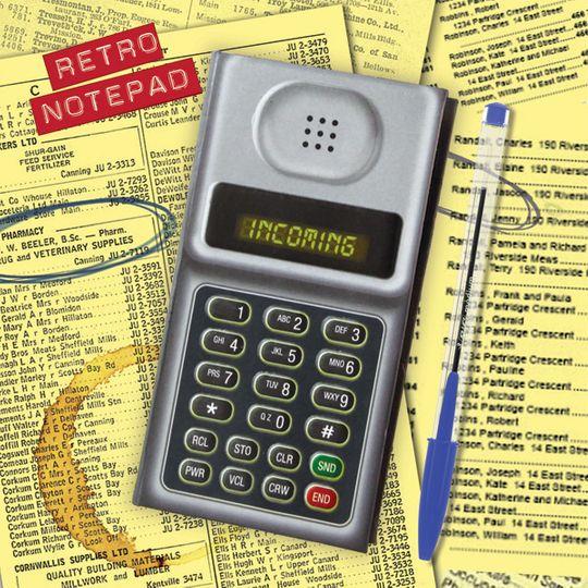 Блокнот Телефон