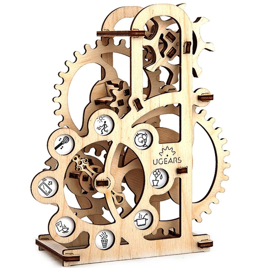 Механический 3D Пазл Ugears Силомер Двигается, если на него подуть
