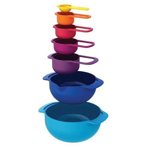 Набор цветных мисок<br>Nest 7 Plus<br>от Joseph Joseph