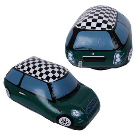 Радиоуправляемые надувные машины Лондон Одна машинка зеленая