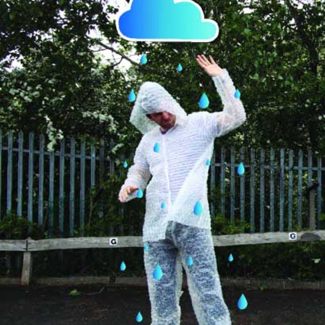 Костюм из пупырчатой пленки Bubble Wrap Costume