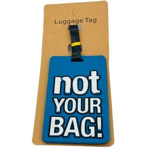 Бирка для багажа Not your bag!