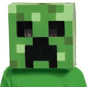 Маска Голова Крипера Minecraft