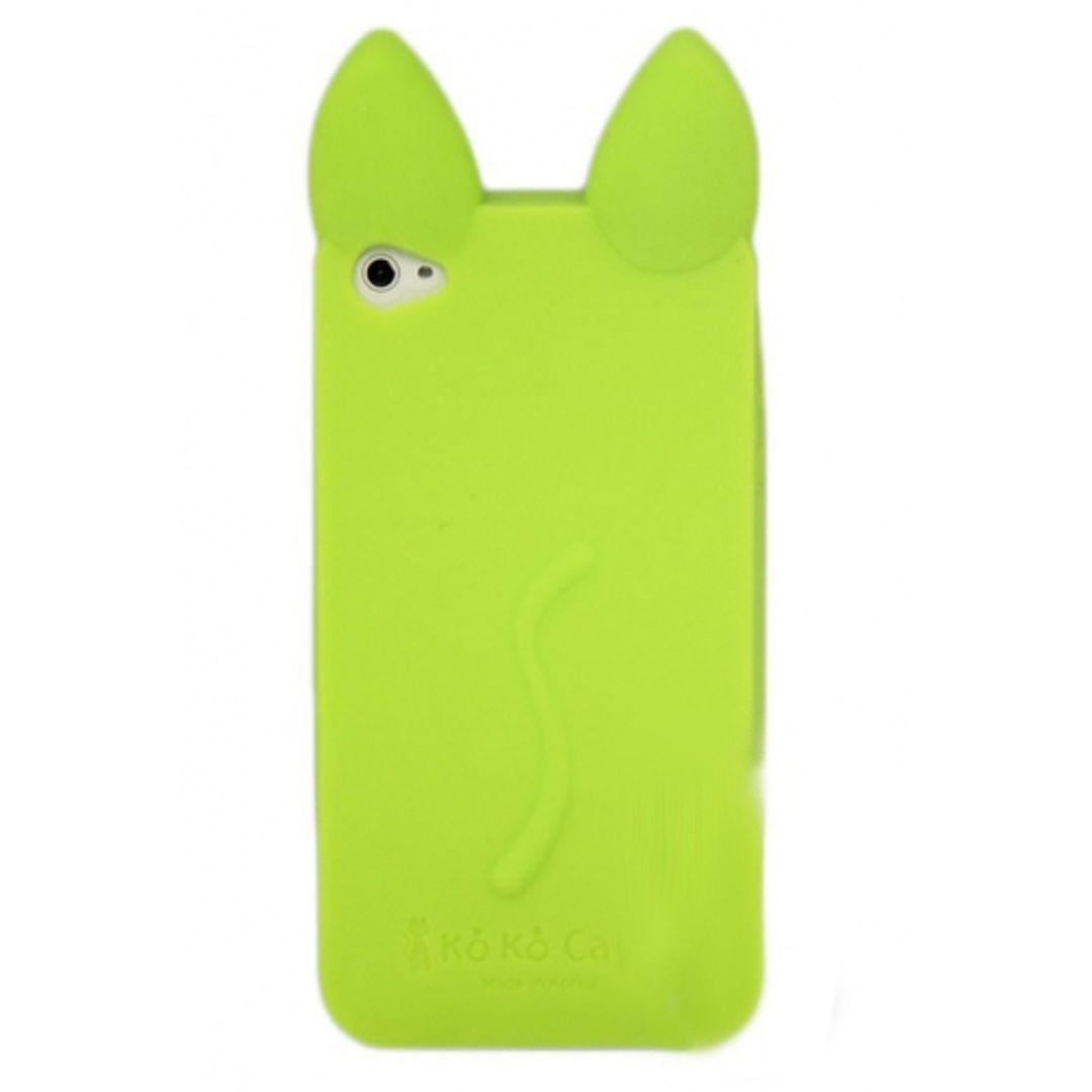Чехол iPhone 4 Кошечка