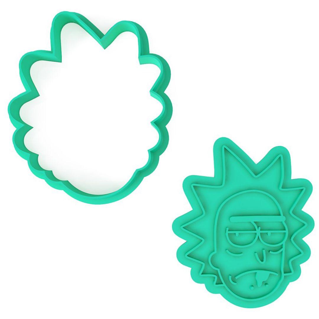 Форма для печенья Рик и Морти Rick
