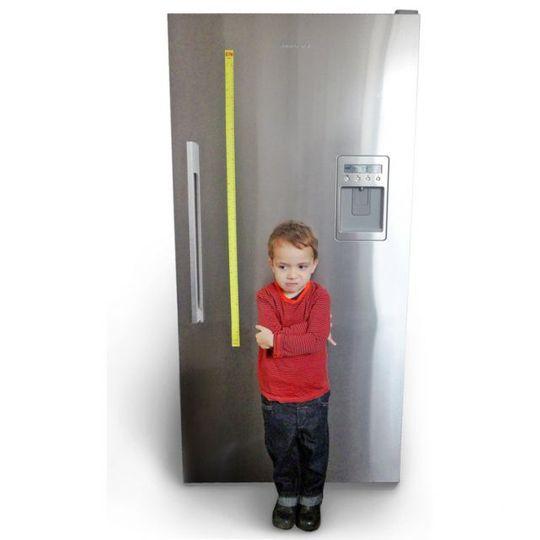 Магнит на холодильник для измерения роста