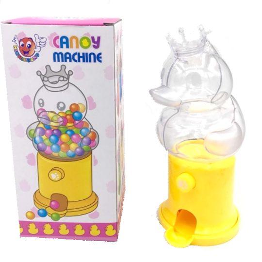 Копилка Конфетница Утенок Candy Machine (Желтый)